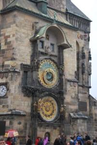 Zegar Orloj naratuszu wPradze