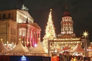 Poznajemy kraj zachodnich sąsiadów - Weinachtsmarkt wBerlinie 6