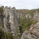 Bastei - skalne miasto w Saskiej Szwajcarii
