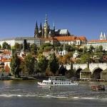 Praga widok na Hradczany