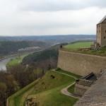Saksonia Szwajcarska - Zamek Konigstein