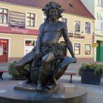 Pomnik Bachusa wZielonej Górze