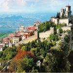 San Marino - zamek La Rocca o Guaita