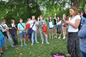 Obóz językowy wLondynie 1