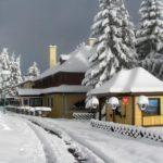 Hotel Alpinum w zimowej scenerii