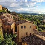 Montepulciano - miasteczko w Toskanii