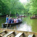 Spływ łodziami po Krutyni
